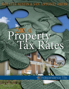 2014 Property Tax Rates