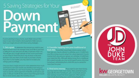 5 strategies for saving your down payment