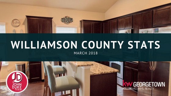 Williamson County Stats March 2018