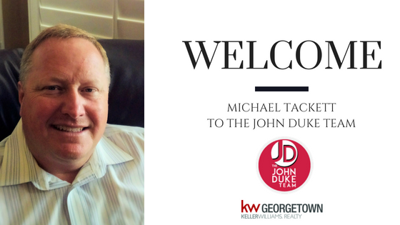 welcome Michael Tackett